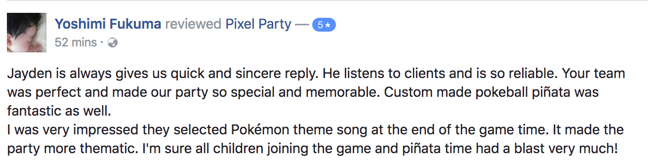 review-testimonial-pixel-party