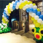 singapore-flower-sheeps-balloon-arch