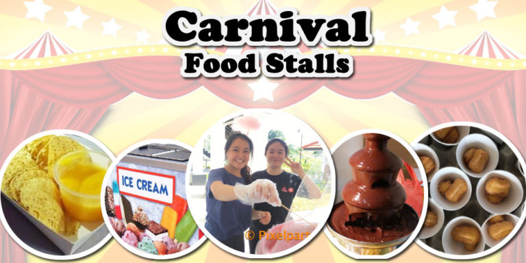 carnival food stall