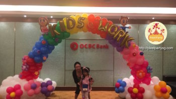 balloon-arch-singapore-OCBC-bank