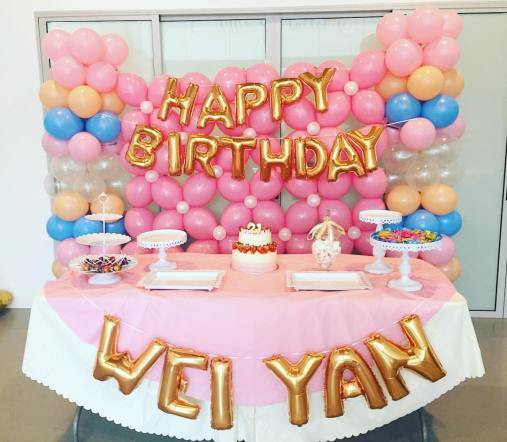 Contact Us For More 21st Birthday Party Decoration Package