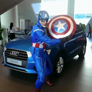 Mascot-rental-singapore-captain-america
