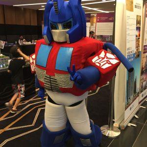 Transformer mascot