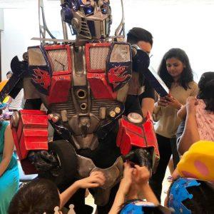 Transformer-mascot-rental-singapore