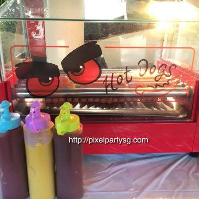 Hotdog Bun Station