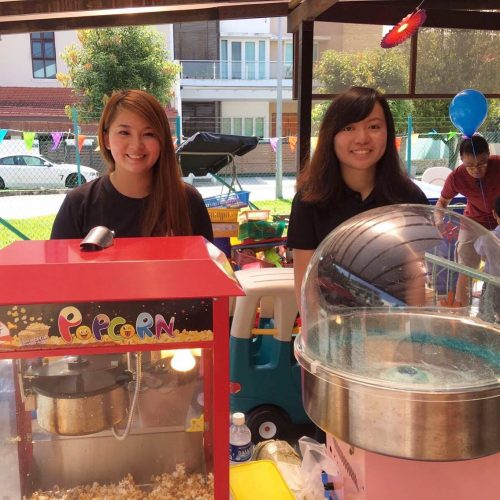 popcorn and candy floss rental singapore