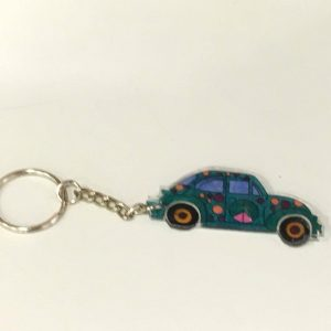 Shrink Keychain Making